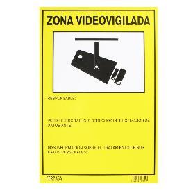 CARTEL 8321 ZONA VIDEOVIGILADA