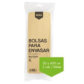 ROLLO BOLSA ENVASAR 30X600CM. BLIST-2