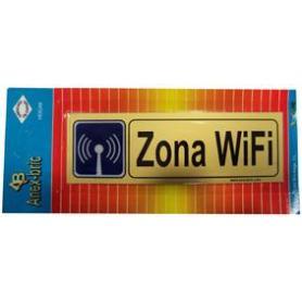 PLACA ADH. -ZONA WIFI-