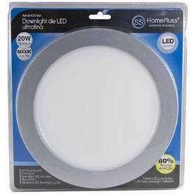 DOWNLIGHT LED PLANO 20W NIQUEL L/FRIA