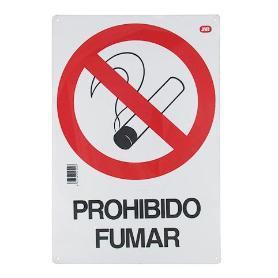 CARTEL OBRA PROHIBIDO FUMAR