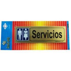 PLACA ADH. -SERVICIOS-