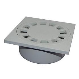 SUMIDERO SIFONICO PVC 100 GRIS